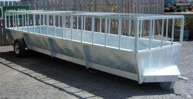 Mobile Silage Feed Wagon Chb Engineering Sheetmetal